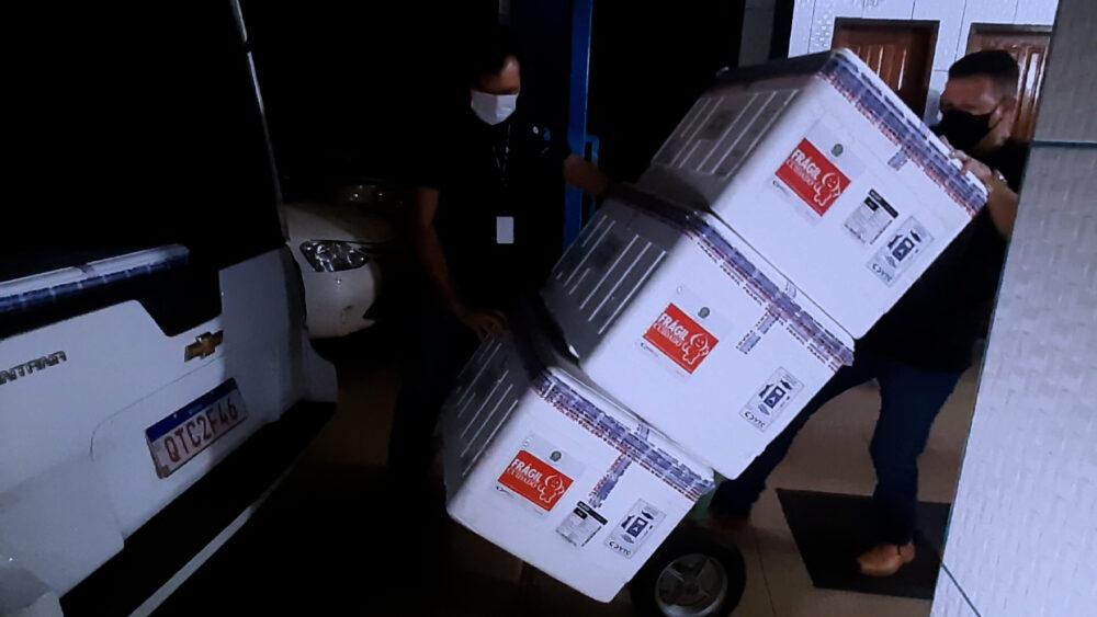 Rondônia Já Recebeu 333.108 Mil Doses de Vacinas Contra a Covid-19